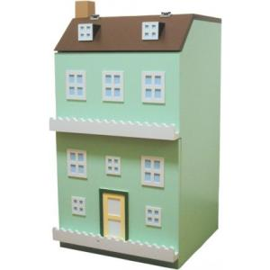 エテ ete 子供収納家具 タウンチェスト3番地 グリーン 【送料無料】【代引不可】 ※お届けまでお日にちがかかる場合がございます。|citron-g