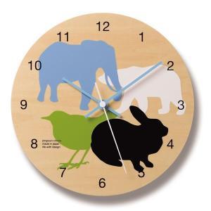 レムノス Lemnos DOUBUTSU掛け置き時計 /PC-07-05all *受注後に納期をお知らせ致します。|citron-g