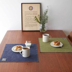 Quarter Report クォーターリポート Luncheon Mat 帆布のランチョンマット エイジ |citron-g