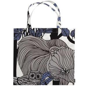 マリメッコ marimekko フィンランド独立100周年記念 VELJEKSET ショッピングバッグ Shopping bag 44×43cm |citron-g