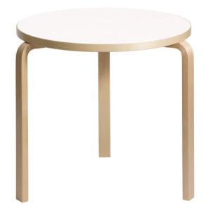 Artek アルテック 家具 90Bテーブル ホワイト ラミネート 172001 【大型家具】 ※納期は受注後お知らせ致します。|citron-g