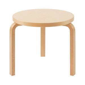 Artek アルテック 家具 90Dテーブル バーチ 174000 納期は受注後お知らせ致します。|citron-g