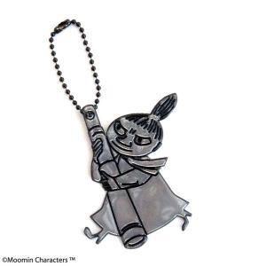 Glimmis グリミス Moomin ムーミン リフレクター リトルミイと望遠鏡 Black ブラック|citron-g