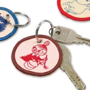 ハイタイド HITIDE ムーミン MOOMIN エンブロイダリーキーチェーン Embroidery Key Chain MM055 |citron-g