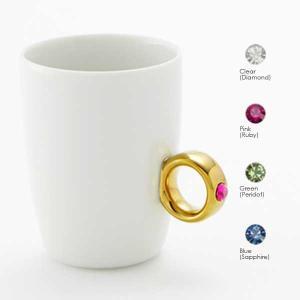 Floyd フロイド Cup Ring カップリング White / Gold ホワイト / ゴールド |citron-g