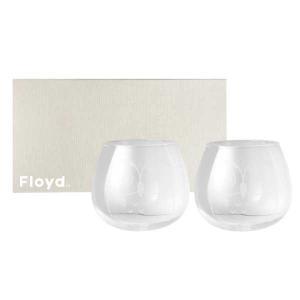 Floyd フロイド FUKUROU GLASS フクロウグラス 2PCS SET 2個セット FL11-00602 ※パッケージが木箱から紙箱に変更となる場合がございます。|citron-g