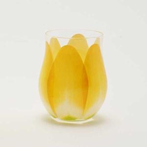 Floyd フロイド TULIP GLASS チューリップ グラス 1pc Yellow  FL11-00803 |citron-g