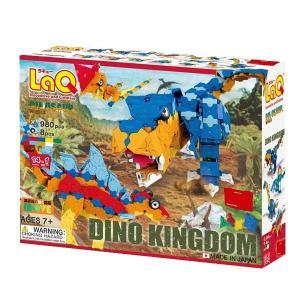LaQ ラキュー Dinosaur World ダイナソーワールド ディノキングダム 980pcs+...