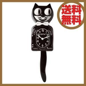 """ディテール DETAIL キットキャットクロック Kit-cat Klock""""Classic black""""2941BK"""