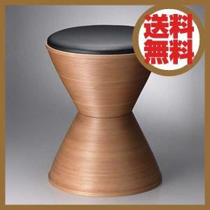 ブナコ BUNACO スツール STOOL ブラックレザー IB-S405 【送料無料】|citron-g
