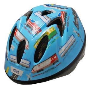 TETE テテ ヘルメット Splash Heart スプラッシュハート トレイン 水色 Sサイズ |citron-g