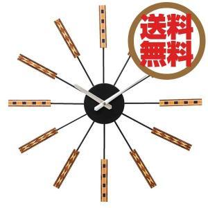 インターフォルム INTERFORM クロック CLOCK 二ドルム Nidrum ブラック CL-2556 BK 【送料無料】|citron-g