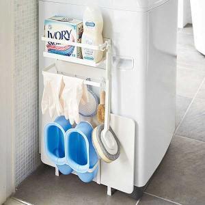 山崎実業 タワー Tower 洗濯機横マグネット収納ラック Magnet Washing Machine Side Rack |citron-g
