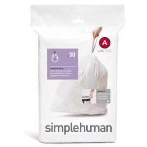 ◆商品名:Simple Human シンプルヒューマン パーフェクトフィットゴミ袋 カスタムフィット...