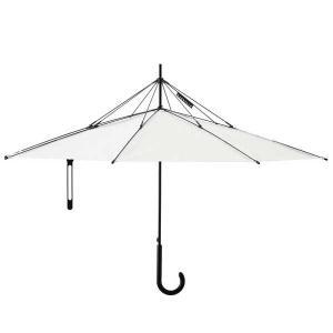 アッシュコンセプト h concept プラスディ +d 傘 Umbrella アンブレラ UnBRELLA ホワイト D-871-WH【送料無料】 citron-g