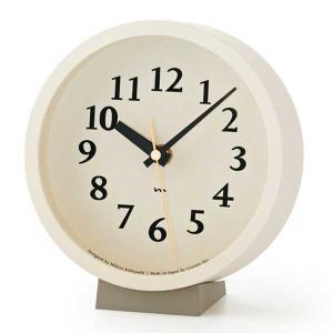 レムノス Lemnos エム クロック m clock アイボリー MK14-04 IV *受注後に納期をお知らせ致します。|citron-g