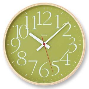 レムノス Lemnos エーワイ クロック RC AY clock RC グリーン AY14-10 GN 【送料無料】 *受注後に納期をお知らせ致します。|citron-g