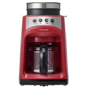 recolte レコルト Grind and Drip Coffee Maker グラインド アンド ドリップコーヒーメーカー FIKA フィーカ レッド RGD-1(R) 【送料無料】|citron-g