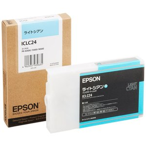 EPSON ICLC24 インクカートリッジ ライトシアン citrus-tie