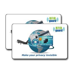 海外旅行用品にクレジットカードや銀行カード、ICカードなどをスキミング被害や電子マネースリから守るカ...