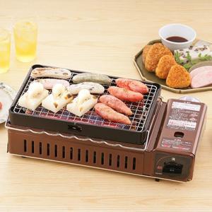 焼き肉コンロ あすつく イワタニ Iwatani カセットガス炉ばた焼き器 炉ばた大将 炙りや CB-ABR-1 カセットコンロ あぶりや|citygas|03