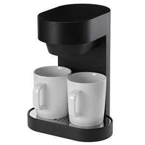 プラマイゼロ ±0 コーヒーメーカー 2CUP プラスマイナスゼロ XKC-V110-B ブラック|citygas