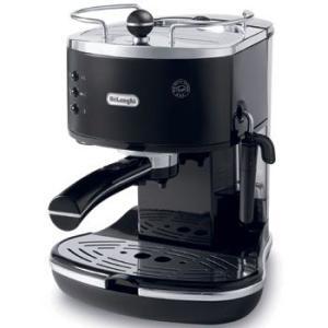 デロンギ エスプレッソマシーン アイコナECO310BK コーヒーメーカー 人気|citygas|02