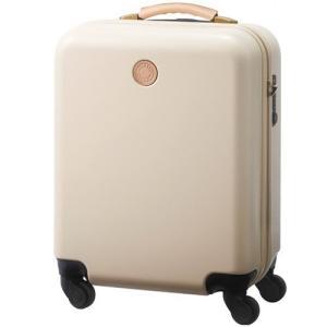 機内持ち込みOK スーツケース MILESTO キャリー キャビンサイズ MLS235-BE ベージュ|citygas|02