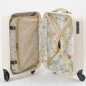 機内持ち込みOK スーツケース MILESTO キャリー キャビンサイズ MLS235-BE ベージュ|citygas|03