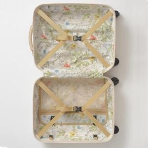 機内持ち込みOK スーツケース MILESTO キャリー キャビンサイズ MLS235-BE ベージュ|citygas|04