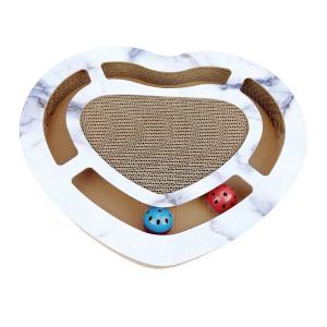[Civil] 猫 爪とぎ ハード型 ねこ 爪研ぎ 爪みがき おもちゃ 穴付き 音出る ストレース解消 ペット用 運動不足【送料無料】|civil-life