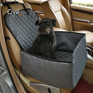 [Civil]新型 ペットドライブシート 助手席後座席兼用 ペットシート  ドライブボックス カーシートカバー 全車種・全種犬猫適応【送料無料】|civil-life