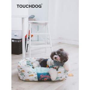 [TOUCHDOG] ペット ベッド マット ペットハウス 犬 猫 楕円形 (三色 L/Mサイズ)日本正規代理店【送料無料】|civil-life