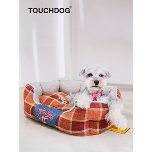[TOUCHDOG] ペット ベッド マット ペットハウス 犬 猫 ヨーロッパ風楕円形 (三色 L/Mサイズ)日本正規代理店【送料無料】|civil-life