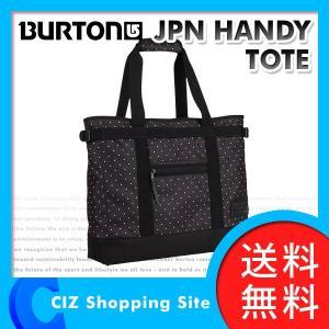(送料無料&お取寄せ) バートン(BURTON) JPN HANDY TOTE BLACK POLKA DOT 20L トートバッグ バッグ ドット柄 11027103409|ciz