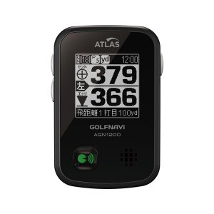 (送料無料) ユピテル(YUPITERU) アトラス(ATLAS) GPSゴルフナビ ゴルフナビ GPSナビ AGN1200 ブラック ciz 02