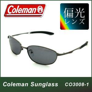 サングラス 偏光 コールマン(Coleman) メンズ レディース 偏光サングラス CO3008-1|ciz