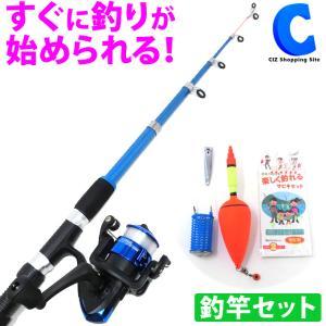 釣竿セット 初心者 子供 サビキ 釣りセット 楽しく釣れるサビキセット GD-FR210|ciz