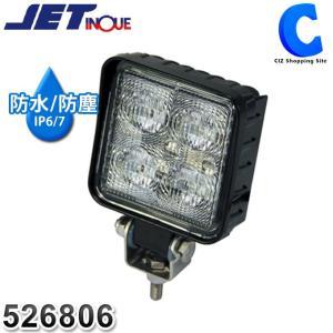 ワークライト LED 車 ワークランプ 作業灯 12V 24V トラック フォグランプ 防水 6000K ジェットイノウエ WL-09 角型 12W クリア 526806 (お取寄せ)|ciz