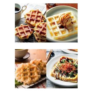 ワッフルメーカー 家庭用 電気 フッ素加工 ホワイト スイーツ 朝食 2枚焼き|ciz|07