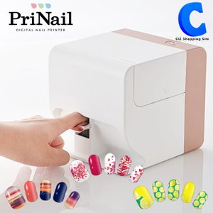 ネイルプリンター プリネイル おうちネイル 自宅でネイル コイズミ PriNail KNP-N800/P ピンク|ciz
