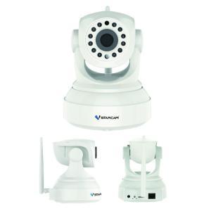 留守番カメラ ペット 犬 猫 声かけ スマホ 室内カメラ ネットワークカメラ Wi-Fi 200万画素 フルHD 赤外線LED チルト/パン対応 KVC24S (送料無料)|ciz|06