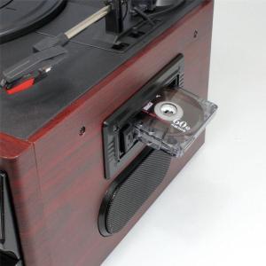 レコードプレーヤー (送料無料) クマザキエイム Bearmax マルチオーディオシステム MA-17CD オーディオプレーヤー レコードプレーヤー スピーカー内蔵|ciz|04