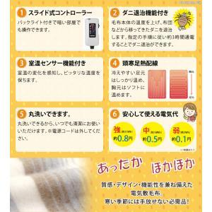電気毛布 敷き毛布 洗濯可能 洗える 電気敷き...の詳細画像2