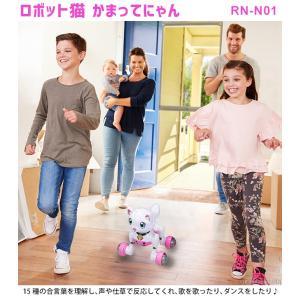 ロボット猫 おもちゃ 介護用 猫型ロボット キヨラカ ロボット猫 かまってにゃん RN-N01 (送料無料&お取寄せ)|ciz|02