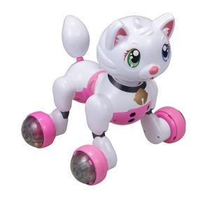 ロボット猫 おもちゃ 介護用 猫型ロボット キヨラカ ロボット猫 かまってにゃん RN-N01 (送料無料&お取寄せ)|ciz|04