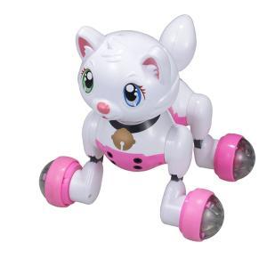 ロボット猫 おもちゃ 介護用 猫型ロボット キヨラカ ロボット猫 かまってにゃん RN-N01 (送料無料&お取寄せ)|ciz|05