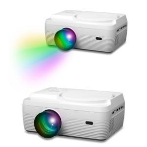 プロジェクター DVD 一体型 家庭用 小型 ホームシアター HDMI端子 コンパクト 30〜150インチ VARTON VAP-9000|ciz|06
