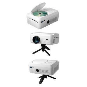 プロジェクター DVD 一体型 家庭用 小型 ホームシアター HDMI端子 コンパクト 30〜150インチ VARTON VAP-9000|ciz|08