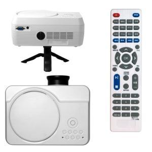 プロジェクター DVD 一体型 家庭用 小型 ホームシアター HDMI端子 コンパクト 30〜150インチ VARTON VAP-9000|ciz|09